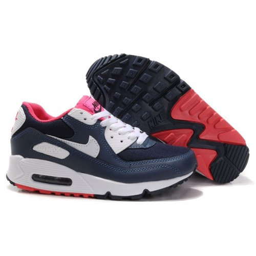 5ec704c9f15dbe Кроссовки женские Nike Air Max 90 Navy\White\Pink