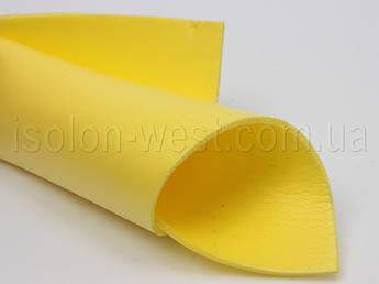 Цветной изолон,  желтый, для декора и рукоделия, 3мм