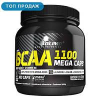 Аминокислота Olimp BCAA Mega 1100 300 капсул