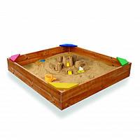Деревянная песочница 9