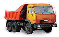 Вывоз строительного мусора самосвалом