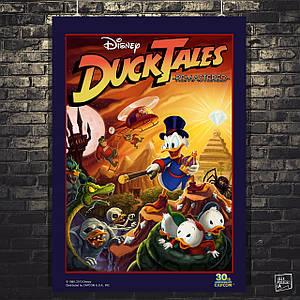 Постер Duck Tales, Утиные Истории. Размер 60x43см (A2). Глянцевая бумага