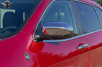 Хром накладки на зеркала лопухи Jeep Cherokee KL