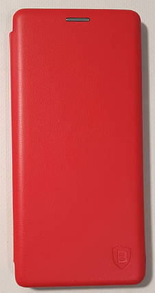 Чехол книжка LEVEL (Kira) Samsung A8 Plus 2018 (A730) red, фото 2