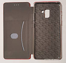 Чохол книжка LEVEL (Kira) Samsung A8 Plus 2018 (A730) red, фото 3