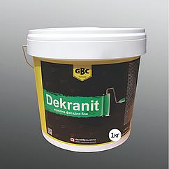 Фасадная акриловая краска Gbc Dekranit 1кг