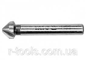 Зенкер по металлу и дереву  Ø= 12.4 мм l= 55 мм HSS Yato YT-44710