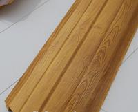 Металевий штахетник 11,5 см, Золотий Дуб 3D(двосторонный)