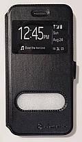 Чехол книжка Nillkin с окном для Iphone 7 черный, фото 2