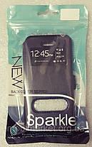 Чехол книжка Nillkin с окном для Iphone 7 черный, фото 3