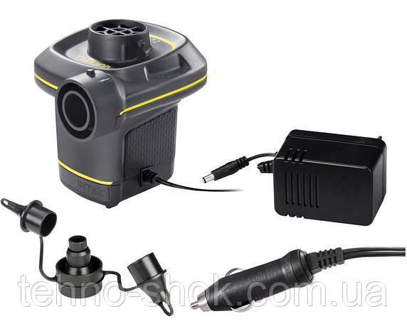 Электрический насос Intex 66634 (12 В и 220 В)