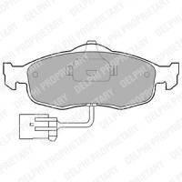 "BRP0781-E Тормозные колодки передние (18.0mm) Ford Mondeo 93- (с дат.) (диск 14"") (ATE)"