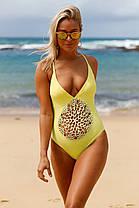Купальник Sandy сдельный желтый, фото 2