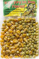 Горох-Кукурудза в вакуумній упаковці ТМ Карпуша (часник) 100g
