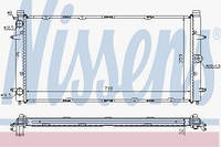 15242T Радиатор системы охлаждения VW Transporter 1.8-2.4/Diesel 10.91-