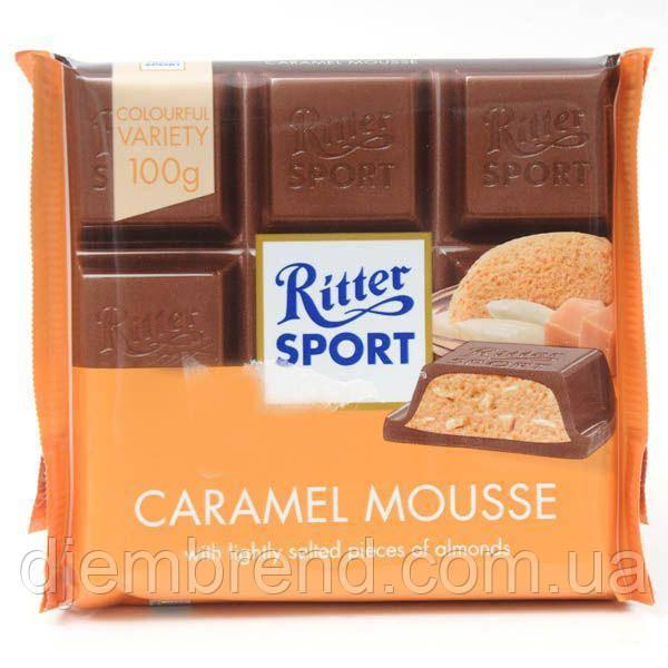 Шоколад Ritter Sport Karamell Mousse, 100 г Германия