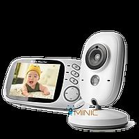 Цифровая беспроводная видеоняня VB603 с датчиком звука, температуры, и ночной подсветкой