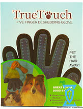 Перчатка для вычесывания шерсти животных True Touch (Тру Тач), фото 2