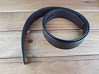 Полоса ременная Искусственная кожа цвет темно-коричневый 120*36*4 мм