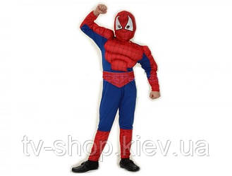 Костюм Человек-паук с мышцами (110-140 см)