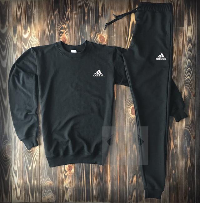 Спортивный костюм Адидас черного цвета фото