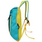 Рюкзак спортивный Hiaomi. Объём 10 л. Размеры 39*22*13 Синий, фото 7