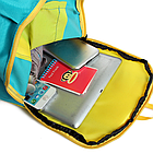 Рюкзак спортивный Hiaomi. Объём 10 л. Размеры 39*22*13 Синий, фото 9