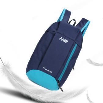 Рюкзак спортивный Hiaomi. Объём 10 л. Размеры 39*22*13 Синий