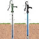 Ручний насос для води з підставкою, фото 4