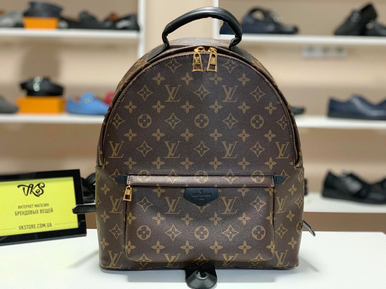 a3515b90155f Женская сумка Louis Vuitton Palm Springs Backpack MM