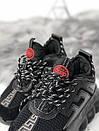 Кроссовки женские Versace черные и белые , фото 5