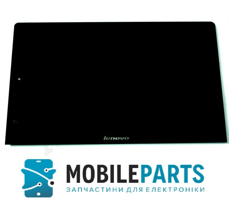 """Дисплей для Lenovo B8000 Yoga Tablet 10"""" с сенсорным стеклом (Черный) Оригинал Китай"""