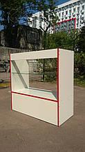 Тумбочка-витрина из ДСП, стекло ДСП