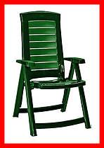 Стул пластиковый Allibert Aruba зеленый