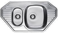 Кухонна мийка FABIANO 85*47 (1.5) trap. ml