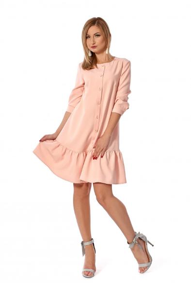 """Платье """"Дориана"""" розовый цвет размеры 42,44,46,48,50"""