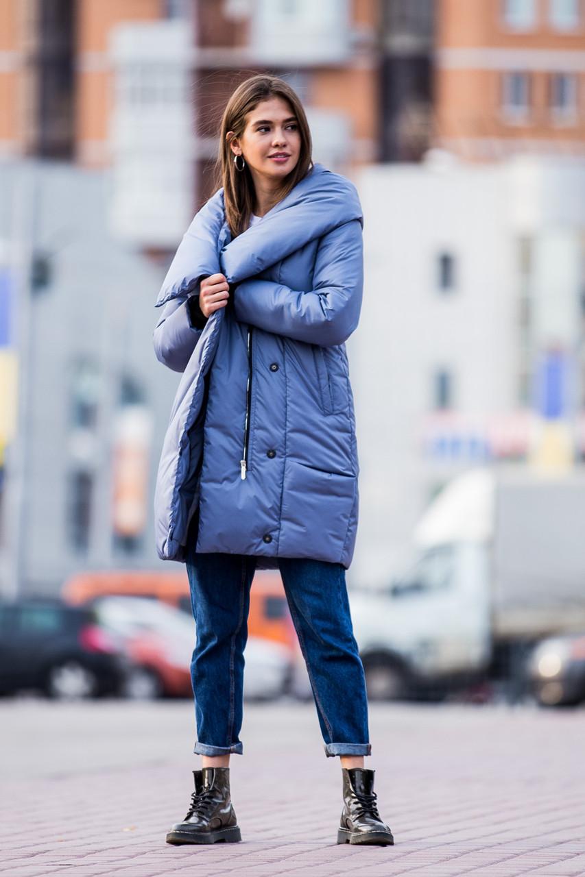 Куртка женская Kattaleya KTL-123 голубого цвета (#595)