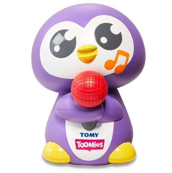 Игрушка для ванной TOMY Веселый пингвин T72724С