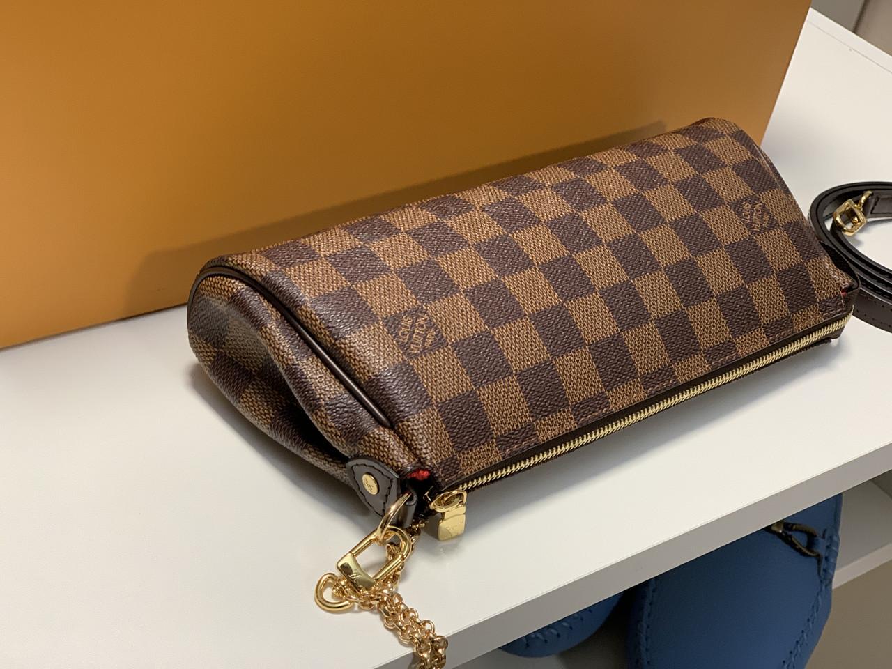 b528d6918ec1 ... Женский клатч Louis Vuitton Eva Канва Damier Ebene, фото 5
