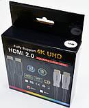 Патчкорд HDMI 2.0 - 4K, 60 Гц  60м с передачей сигнала по оптическому кабелю (AOC), фото 3