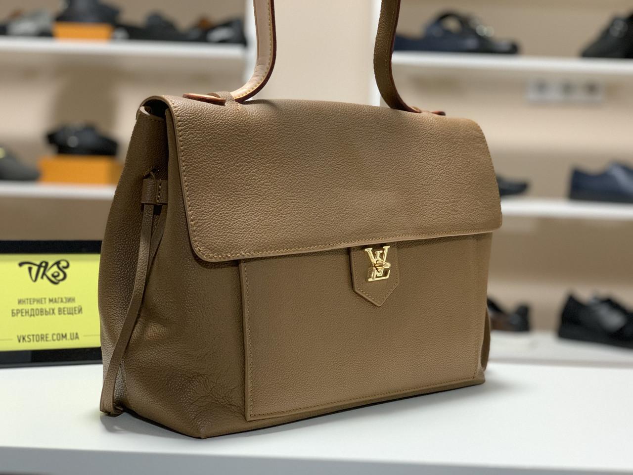 Женская сумка Louis Vuitton Calfskin Lockme PM