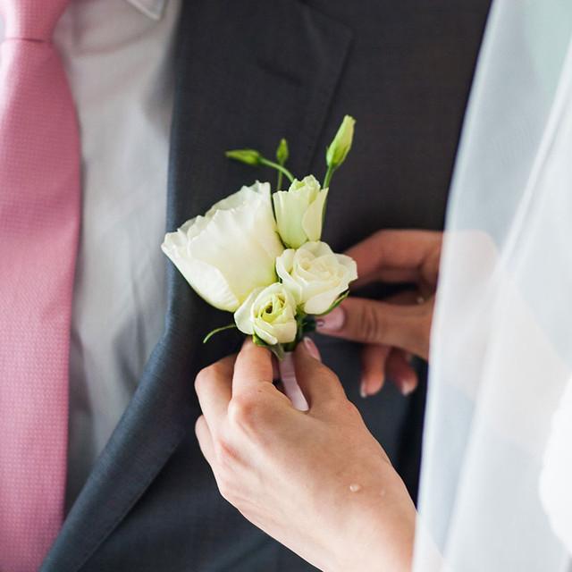 свадебные бутоньерки