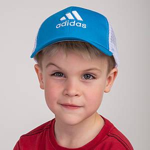 Спортивная летняя кепка с сеткой для мальчика - Adidas (к34)