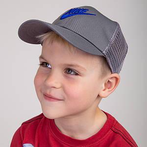 Спортивная летняя кепка с сеткой для мальчика - Nike (к35)