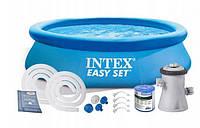 Бассейн надувной Intex 28122 Easy Set Pool (305 х 76 см), фото 1
