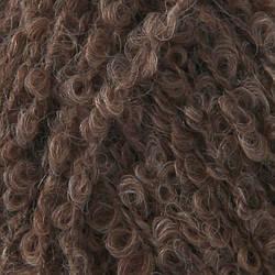 Буклированная пряжа Drops Alpaca Boucle, цвет Brown Mix (0602)
