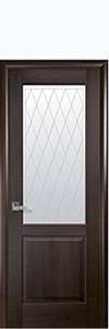 Двери межкомнатные Новый Стиль Эпика (со стеклом) ПВХ DeLuxe