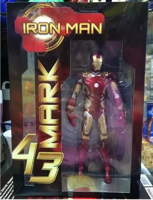 Фигурка Железный Человек Марк 43 от Марвел