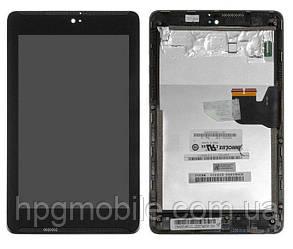 Дисплейный модуль (дисплей + сенсор) для Asus FonePad 7 ME373CG, HD7 ME372, HD7 ME372CG, с рамкой, оригинал
