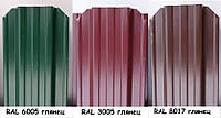 Металевий штахетник (односторонный) 0,3 мм глянець
